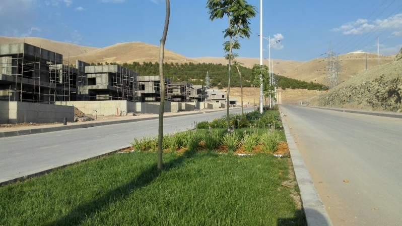 Plastic Garden Edging Cape Town : Gs sulaymaniyah heights median greenscape